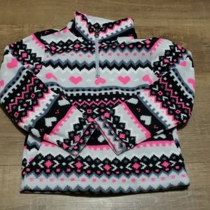 Childrens place fleece pullover size 4 with pocket